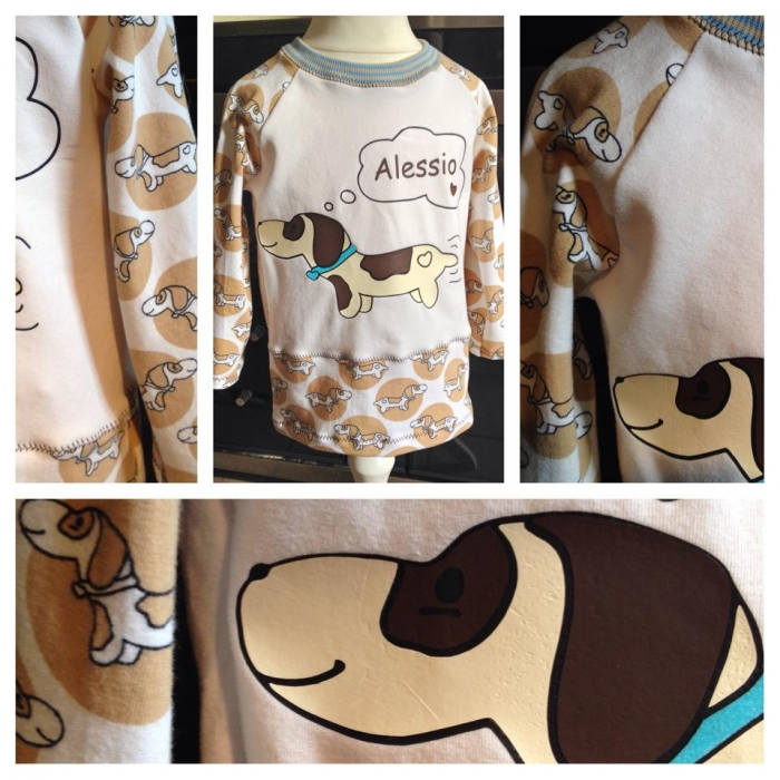 Dachshund_Shirt_Applikation